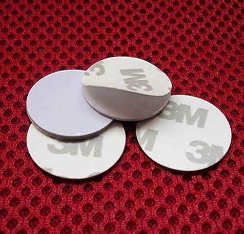 100& # X424; 25mm 125kHz RFID Schlüsselanhänger Schlüsselschilder t5557Nähe Medaille Schild Schlüsselkasten Tags selbstklebend Aufkleber -