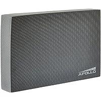 APOLLO balance pad, colchoneta de coordinación 24x38x6cm, para el fitness, yoga y pilates en gris antracita