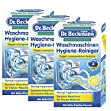 3 x Dr. Beckmann Waschmaschinen Hygiene Reiniger je 250g/ Hygiene & Frische für die Waschmaschine/ reinigt von innen/ entfernt unangenehme Gerüche
