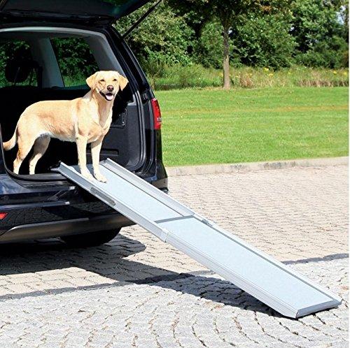 Flexible Teleskop Hunderampe Petwalk (ideal für Hunde, die nicht mehr Springen),–perfekt für Ihre ängstlichen, Young, Old, schwache oder Kranke Hunde, um in und aus der Auto