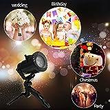 Blusmart Christmas Projector Lights 15 Serie de patrones de escena con proyector de...