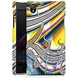 Sony Xperia Z1 Hülle Premium Case Schutz Cover Regenbogen Bunt Muster