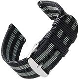 Archer Watch Straps | Premium Cinturino di Nylon Ricambio Sgancio Rapido Cinghia Orologio per Donne e Uomini, Orologi e Smart