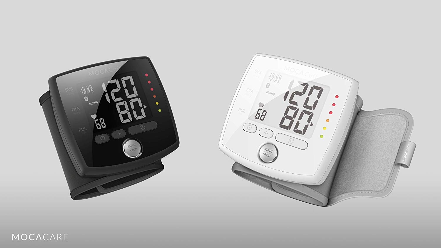 61i6bmFzrlL - MOCACuff Portable Bluetooth Blood Pressure Monitor, Wrist Blood Pressure Monitor Cuff, Phone Connect Fully Automatic…