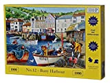"""1000 Piece Jigsaw Puzzle - Find the Differences No.12 – 'Busy Harbour' """"NEW February 2017"""""""