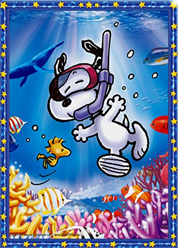 zle Crystal Snoopy diving (Jigsaw type) (Snoopy Puzzle)