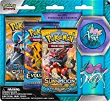 Pokemon Legacy Beasts 3 Pack Blister w/Suicune Pin + Pokemon Card Keychain