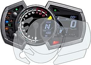Kawasaki Ninja 250 400 650 2017 Displayschutzfolie Tachoschutzfolie 2 X Ultra Klar Auto