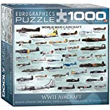 Eurographics 8 x 20,3 cm Box WWII Aircraft MO Puzzle (1000 Stück)