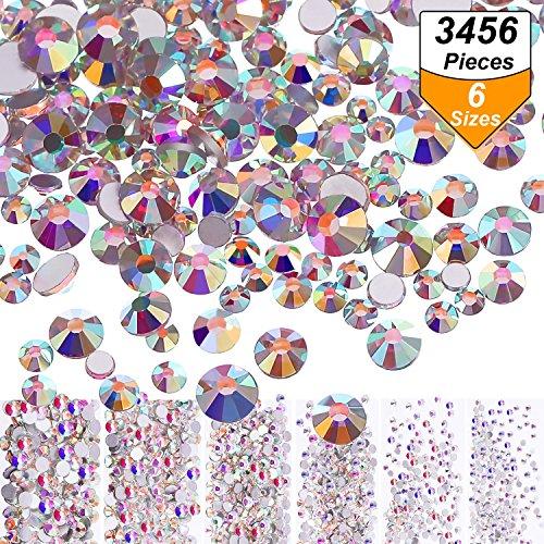 Libro Pdf Gratis 3456 Pieces Nail Crystals Ab Nail Art