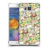 Offizielle Micklyn Le Feuvre Meerschweinchen Und Gänseblümchen Und Aquarell Muster 2 Ruckseite Hülle für Samsung Galaxy Alpha