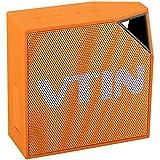Altavoz bluetooth impermeable de IP67, Vtin Cuber Altavoz bluetooth 4.0 de 5W, con micrófono de Incorporado impermeable Para Ducha / Hogar / exterior, color Naranja