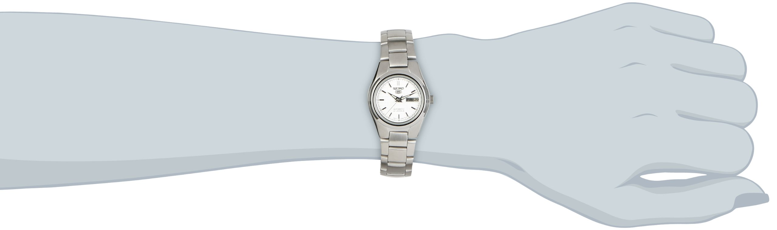 Seiko Reloj Analógico Automático para Mujer con Correa de Acero Inoxidable – SYMC07K1