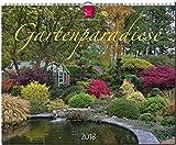 GARTENPARADIESE: Original Stürtz-Kalender 2018 - Großformat-Kalender 60 x 48 cm