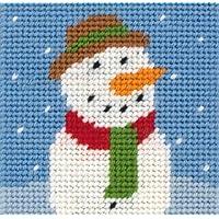 Anchor Frosty Stickset, Design Schneemann, für Anfänger