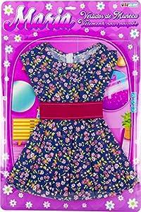 Vicam FR-Vestido para muñecas Gigante, 900, Rosa, Azul, Verde