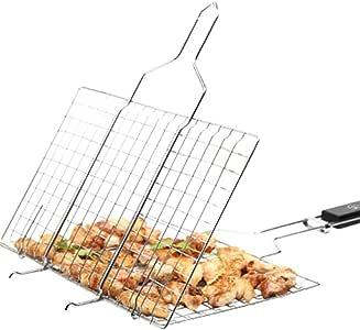 YYF Clip grillagé pour Barbecue Extérieur attelle Filet