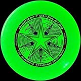 "Discraft Ultra-Star 175g Ultimate Frisbee ""Starburst"" - *glow*"