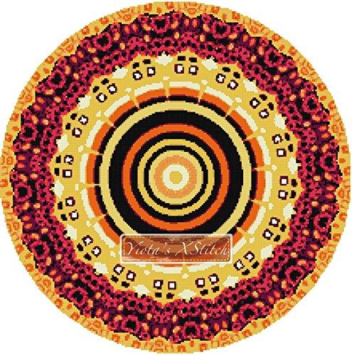 Klimt Mandala de punto de Kit de punto de cruz