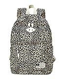 Moollyfox Mujer Estampado de leopardo Mochila de Viaje Estilo de muy buen gusto bolso de escuela la...