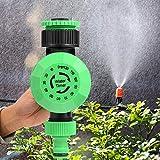 Delaman Automatic Irrigation Timer, 2-120 Minuti Outdoor Garden Hose Water Timer Irrigation Controller Spegnimento Automatico