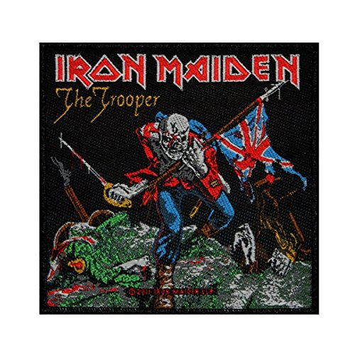 Iron Maiden The Trooper Official Patch 10cm