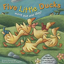 Five Little Ducks Reissue with CD (Lift the Flap Book & CD)