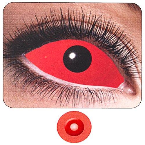 Farbige Kontaktlinsen Auge Rot Komplett PS 11261halbjährlichen