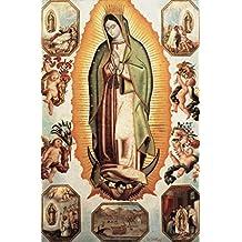 """Impresión artística / Póster: 18. Jahrhundert """"Virgen de Guadalupe"""" - Impresión de alta calidad, foto, póster artístico, 65x100 cm"""