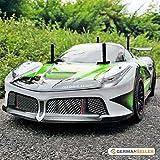RC Racecar, grün-schwarz, ferngesteuertes Auto fürs Gelände, RTR, 42 cm, 2.4 GHz Fernbedienung, inkl. Akku