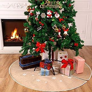 Tatuo-Weihnachtsbaum-Rock-Weie-Schneeflocke-Gedruckt-Sackleinen-Baum-Rcke-Base-Abdeckung-fr-Weihnachten-Weihnachtsfeiertag-Dekorationen