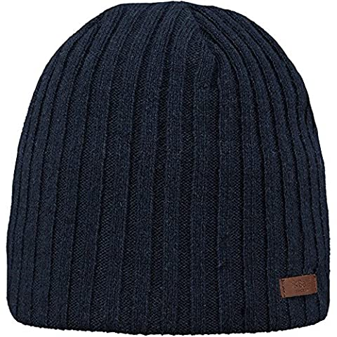 Barts Mens Haakon Knitted Soft Polyester Walking Beanie Hat