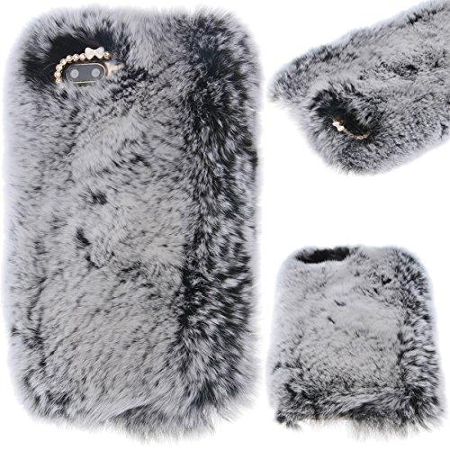 Cover iPhone 7 Plus , Coniglio Fur Custodia Per Apple