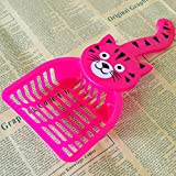 #4: Foodie Puppies Cartoon Cat Sand Cleaning Lovely Dogs Food Shovel Litter Scoop - Color May Vary