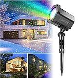 Best Landscape Lights - Christmas Light Projector, FengNiao Outdoor Landscape Lighting Green Review