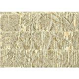 Paper Concept - Lote de 10 hojas,papel Kraft, A4, 21x 30cm, papel de periódico