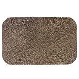 Dirt Angel Fußmatte/Schmutzfangmatte maschinenwaschbar 50x75 cm Karamell