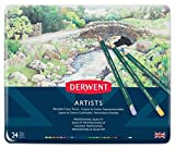 Derwent 32093 Crayons de couleur Multicolore Boîte de 24