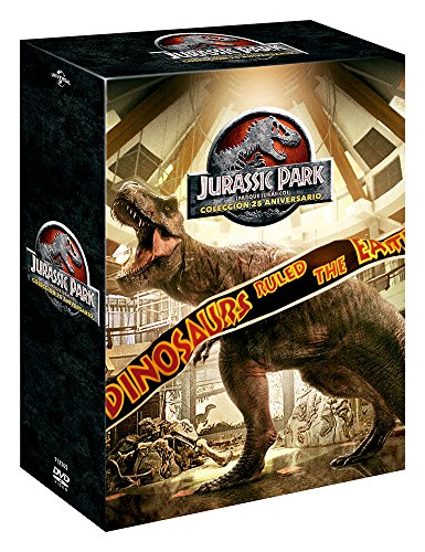 Pack: Parque Jurásico 1-4 - Edición 2018 [DVD]