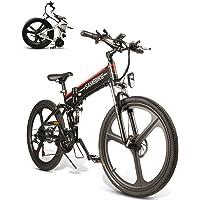 SAMEBIKE Elektro-Mountainbike 26-Zoll-Radklapp-Ebike 350W 48V 10AH Elektro-Mountainbike für Erwachsene
