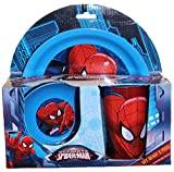 3pce Breakfast Set Spiderman