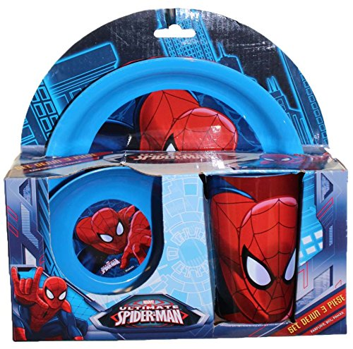 Image of 3pce Breakfast Set Spiderman