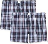 ESPRIT Herren Körperbekleidung Chicago 2 Woven Shorts, Blau (Navy 400), Small (Herstellergröße: 4)