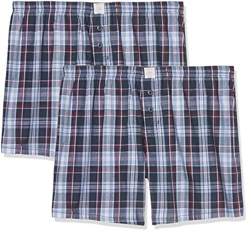 ESPRIT Herren Körperbekleidung Chicago 2 Woven Shorts, Blau (Navy 400), Medium (Herstellergröße: 5)