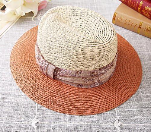 YMFIE Onorevoli Summer Beach Holiday Hat Hat Hat Cappello da Sole la Piegatura Sunscreen Tappo Aletta Parasole,C | Design moderno  | Fashionable  43b5b2