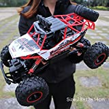 Pinjeer Coche RC 1/12 4WD Rock Crawlers 4x4 Driving Car Motores Dobles Drive Big Foot Coche Control Remoto...