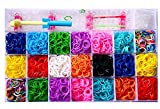 #2: Red Rock Products Color DIY Loom Band Kit with 4200 Colourful Rubber Bands
