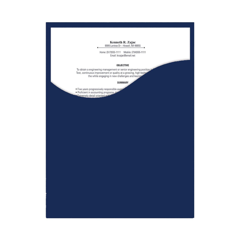 amazing resume presentation folder contemporary top resume