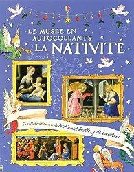 Le musée en autocollants : La Nativité