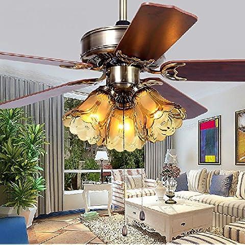 Ventilatore da soffitto ventilatore salone luminoso ristorante